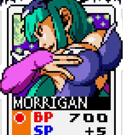 Morrigan - Darkstalkers  Sticker