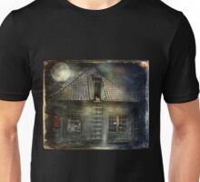 What Happens in Old Houses At Night? Unisex T-Shirt