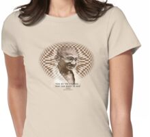 our boy ghandi Womens Fitted T-Shirt