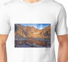First Light at Chasm Lake Unisex T-Shirt