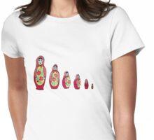 Babushka Tee Womens Fitted T-Shirt