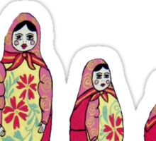 Babushka Tee Sticker