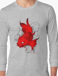 Koi | red Long Sleeve T-Shirt