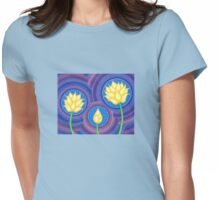 Dreamy Lotus Family Womens Fitted T-Shirt