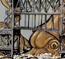 Kraken vs. The Steel Bridge Sticker