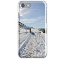 Snowy scene iPhone Case/Skin