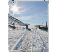 Snowy scene iPad Case/Skin