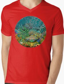 Thalassic Pantheon Mens V-Neck T-Shirt
