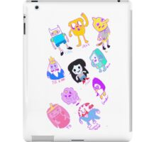 adventure time sketchy chibi iPad Case/Skin