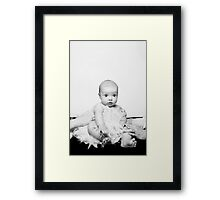 Mommy & Daddy's Little Girl Framed Print