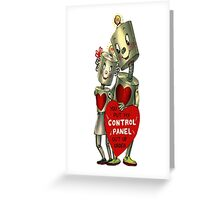 Loving Robots Greeting Card