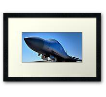 BOEING B1-B LANCER AIR FORCE BOMBER  Framed Print