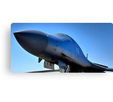 BOEING B1-B LANCER AIR FORCE BOMBER  Canvas Print