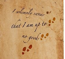 I Solemnly Swear that I am up to no good... by KiddCustoms