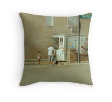 Sno Cone! Sno Cone! Throw Pillow