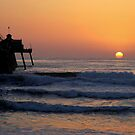 California Sunset by Marie Sharp