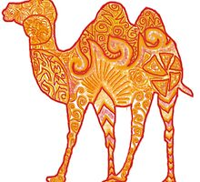 Camel in Warm Colours (Reuploaded) by zaaranjali
