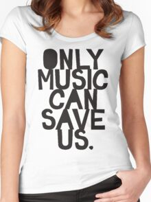 Only Music Women's Fitted Scoop T-Shirt