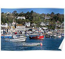 Lyme Regis Harbour - April Poster
