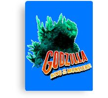 Godzilla King of the Monsters Canvas Print