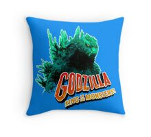 Godzilla King of the Monsters Throw Pillow