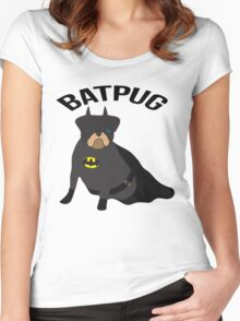 Batpug Women's Fitted Scoop T-Shirt