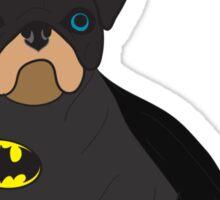 Batpug Sticker