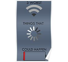 3 Worst Things That Could Happen Poster