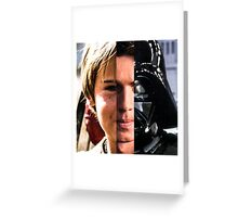 STAR WARS: Anakin Skywalker Evolution (Darth Vader Evolution) Greeting Card