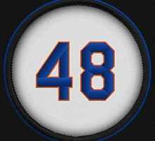 48 - deGrom (on black) by DesignSyndicate