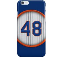 48 - deGrom iPhone Case/Skin
