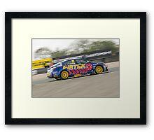Andrew Jordan - MG 888 Racing Framed Print