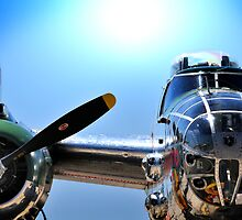 "MITCHELL B-25 MEDIUM BOMBER ""Panchito"" by Duane Salstrand"