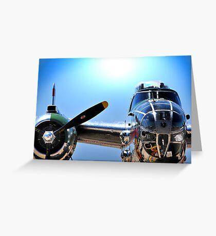 "MITCHELL B-25 MEDIUM BOMBER ""Panchito"" Greeting Card"