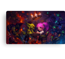 Goblins Vs Gnomes Canvas Print