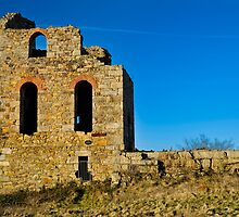 Ruins of a Tin Mine: Cornwall UK by DonDavisUK