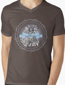 Hindu goddess Dharma Path Mens V-Neck T-Shirt