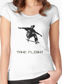 Take Flight Women's Fitted Scoop T-Shirt