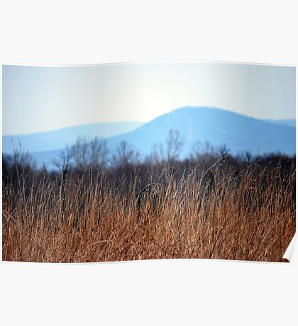 Blue Mountains of West Virginia  Poster