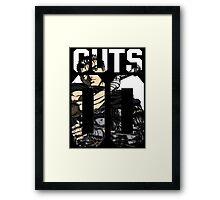 Guts - Berserk  Framed Print