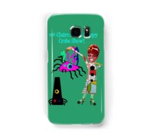 The Claire's Two Creepy Crabs Show! Samsung Galaxy Case/Skin