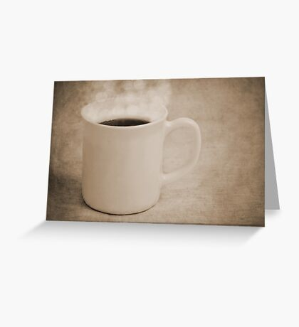 Cup of Coffee Greeting Card