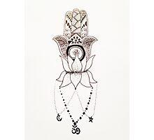 Three Symbols of Spirituality Photographic Print