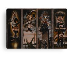 Disney Haunted Mansion Disney Doom Buggy Stretching Portraits Canvas Print