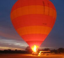 Hot Air Ballon  by starbubbles