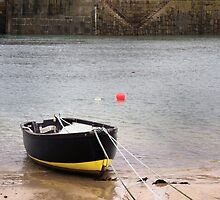 Molly - Mousehole Harbour Boat by Kenan Hewish