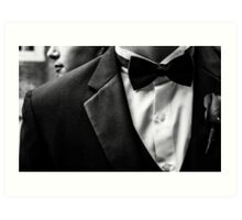 Suit&Tie Art Print