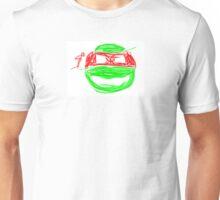 Raphael TMNT graffiti Unisex T-Shirt