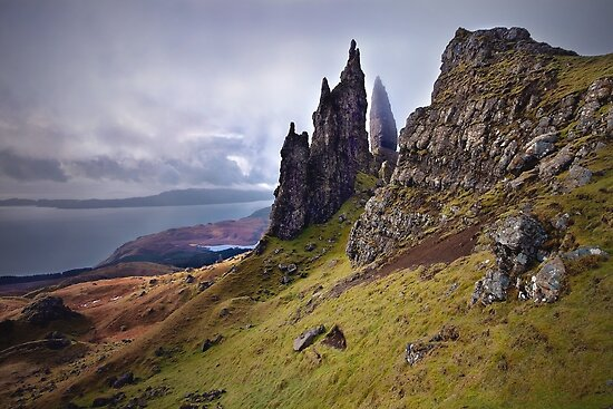 Old Man of Storr. Isle of Skye. Scotland by outwest photography.co.uk