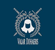 Game of Thrones: The Faceless Men (Valar Dohaeris) by JDtheSnakeGirl